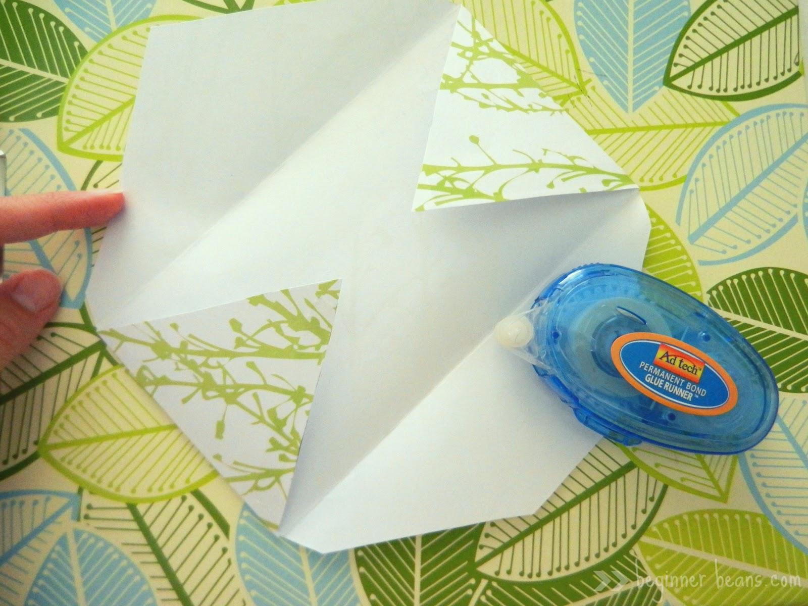 Scrapbook paper envelope template - Making Your Own Cash Envelopes