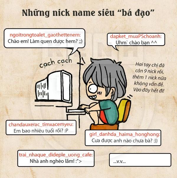 Truyện tranh hài thời chat chit tiệm net 2