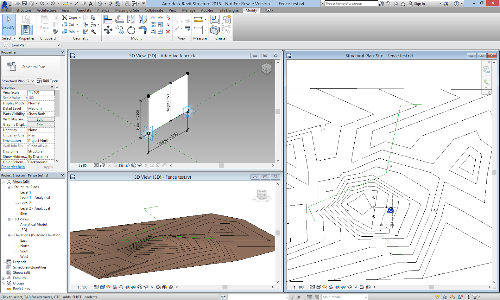 Site Plan Revit : Revit dynamite and ammo hardscape on topography the