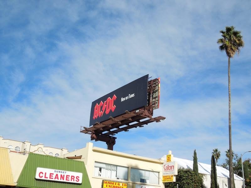 ACDC iTunes billboard