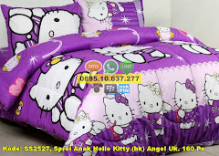 Harga Sprei Anak Hello Kitty (hk) Angel Uk. 160 Po Jual