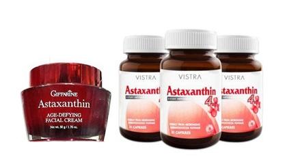 ผลิตภัณฑ์แอสต้าแซนธิน (Astaxanthin)