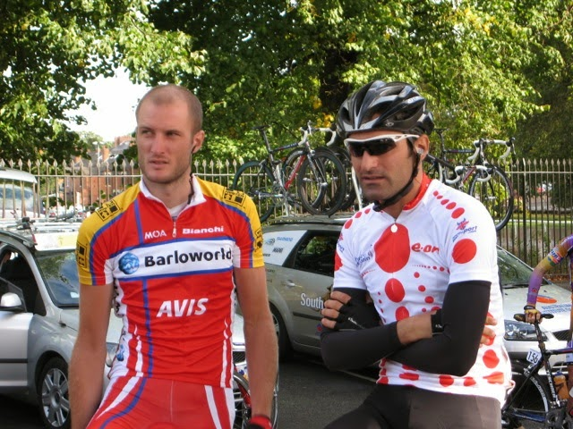 Steve Cummings and Danilo Di Luca