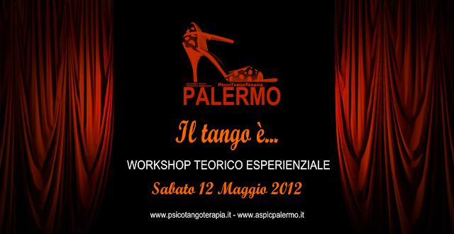 flyer PsicoTangoTerapia anteprima Palermo 2012