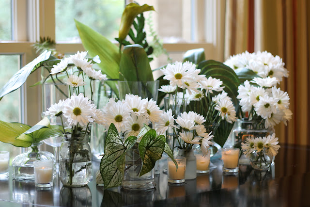daisy centerpiece