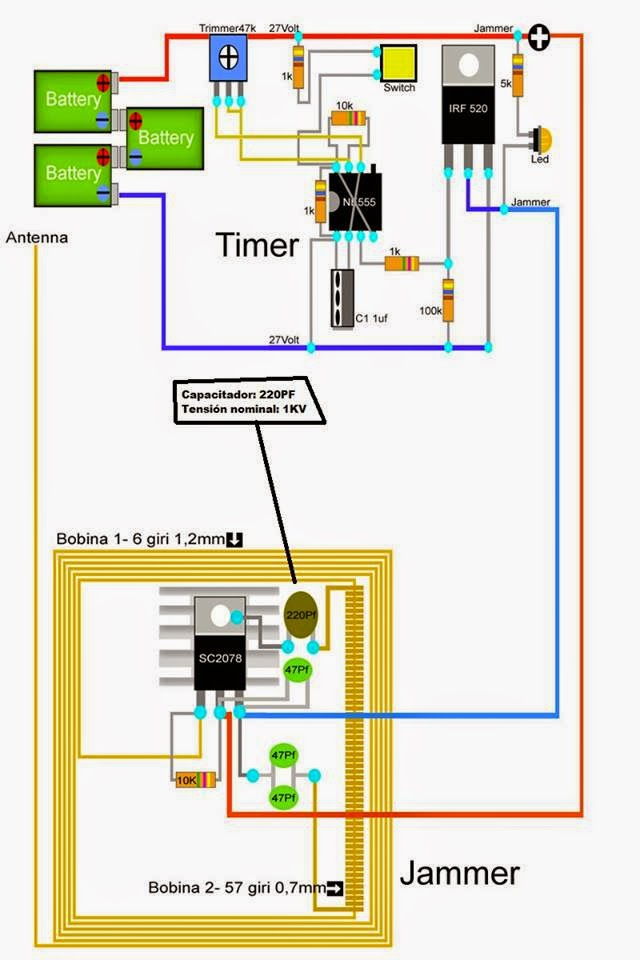 how to make a slot machine jammer