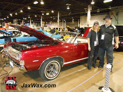 1969 Ford Torino GT Convertible Jax Wax Chicago World of Wheels