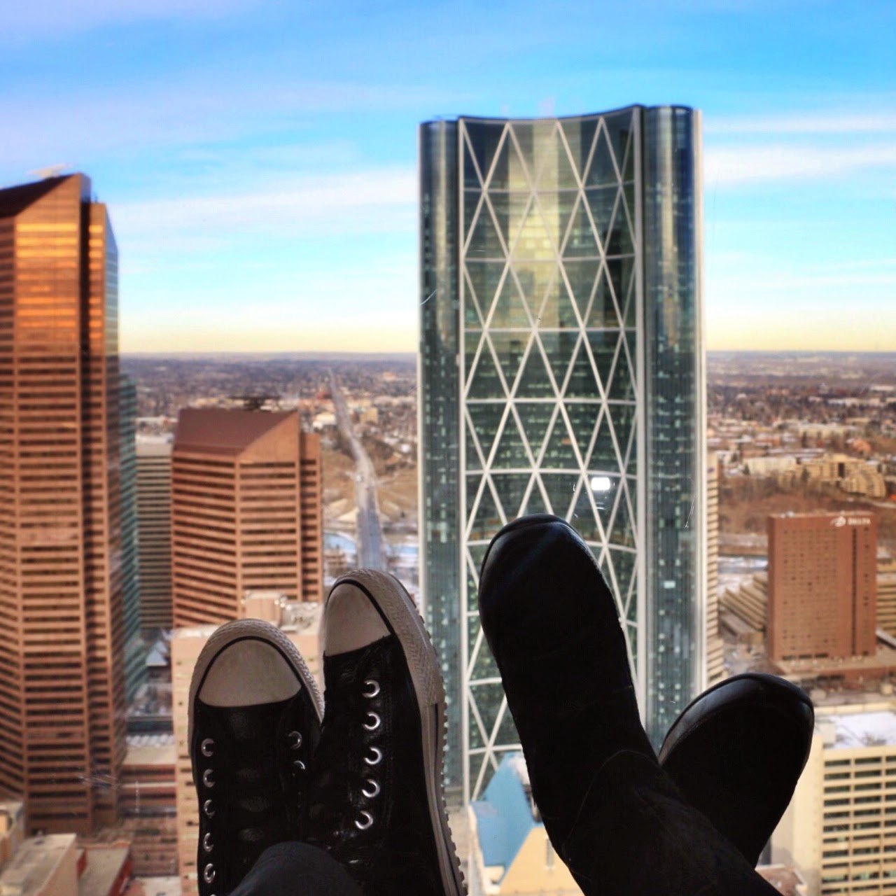 Calgary Towner in Alberta Canada by Jessica Mack, SweetDivergence