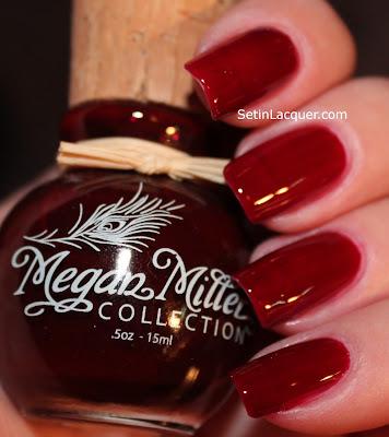 Megan Miller Framboise nail polish