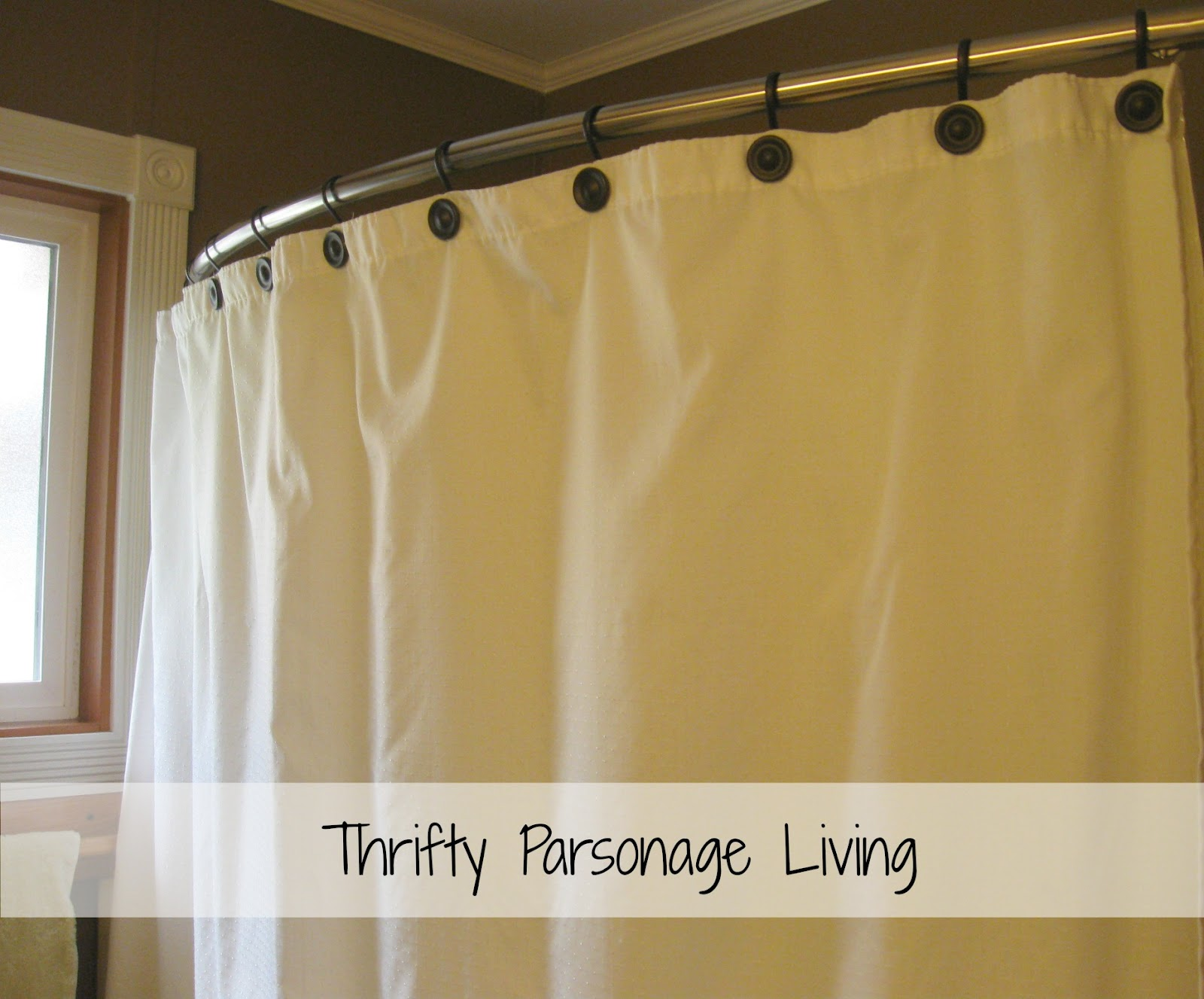 Thrifty Parsonage Living: BATHROOM MAKEOVER & PAINTING
