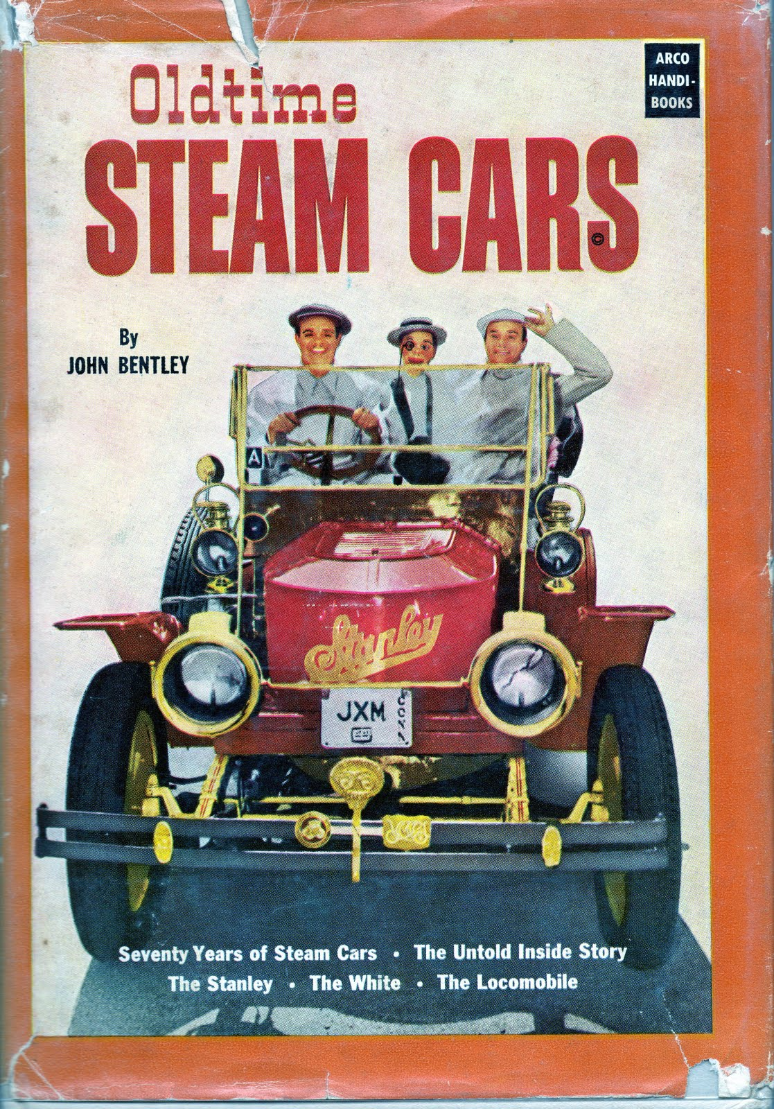 James Melton: Musical Career and Antique Cars: Steam Cars
