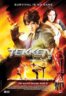 Tekken 1998 poster