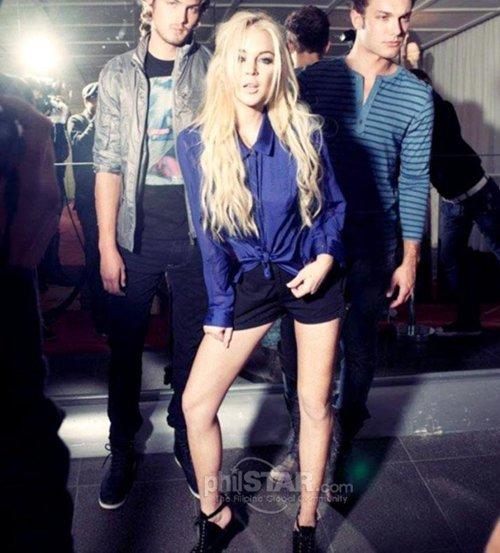 Lindsay Lohan for Jag Jeans Spring Summer 2012