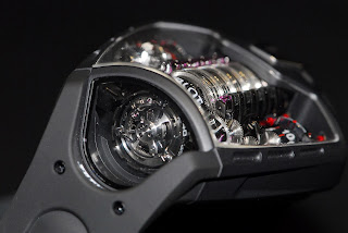 Tourbillon vertical suspendu Hublot MP-05 LaFerrari
