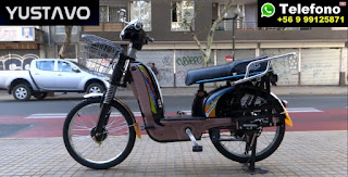 $299.900 Bicicleta Electrica Yustavo con asiento super comodo