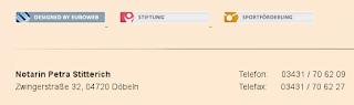 Kein Webdesigner würde auf einer Seite von Referenzkunden Fehler lassen. Die Euroweb macht aber auch keine, sondern SEO.