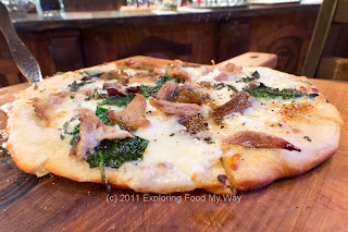 Creme Anatra Pizza