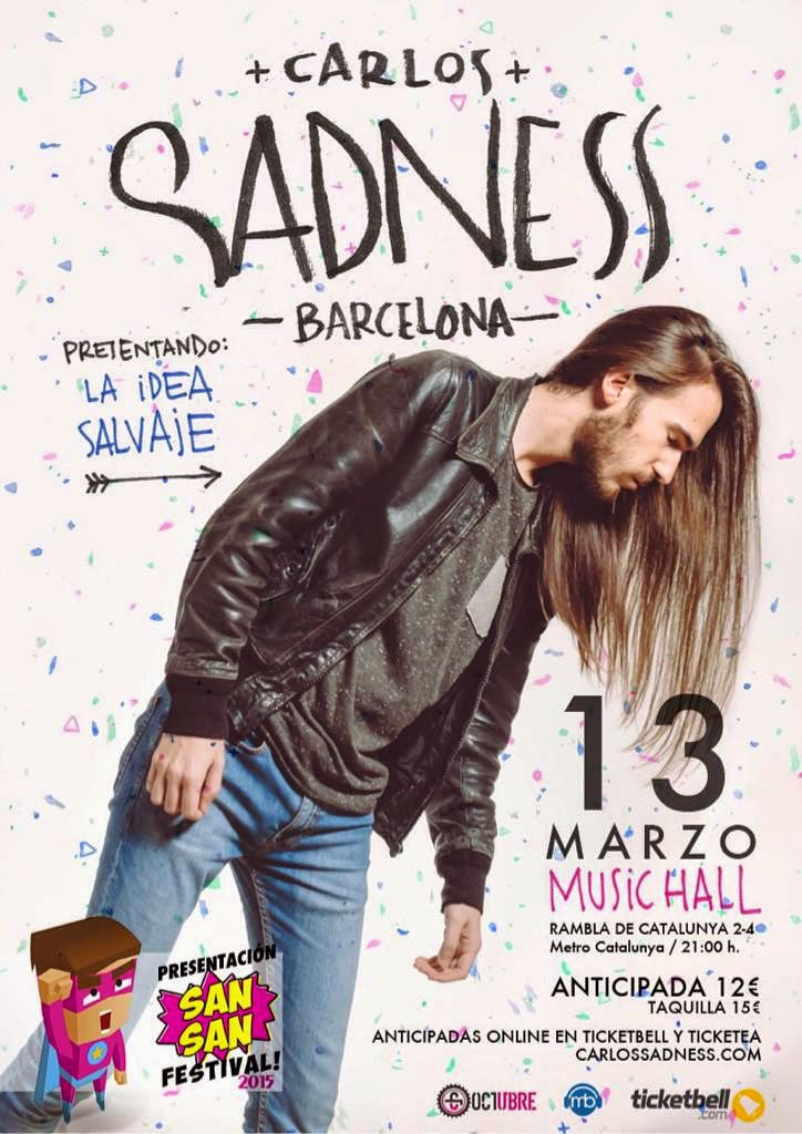 Music Hall de Barcelona Carlos Sadness
