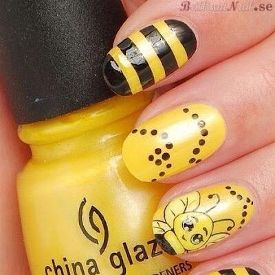 Uñas La abeja Maya