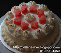Milky Strawberry Cake
