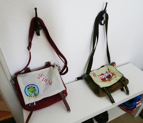 DIY Taschen Kindergartentasche Nähen