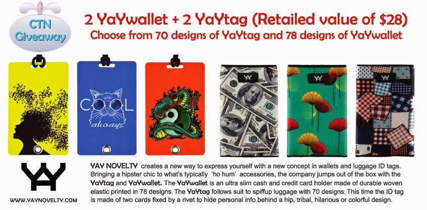 YaYtag Giveaway Ends 3/8