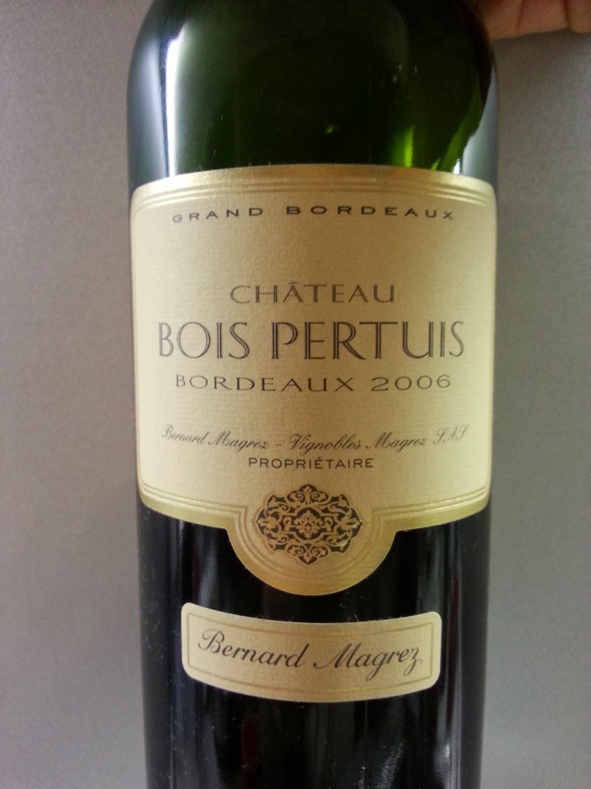 Chateau Bois Pertuis - My Wine Bernard Magrez Chateau Bois Pertuis Bordeaux 2006 AOC