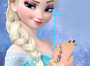 Elsa Royal Manicure