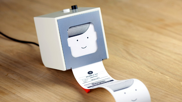 Berg Cloud Little Printer: A Tiny Printer for Pocket Sized Publications