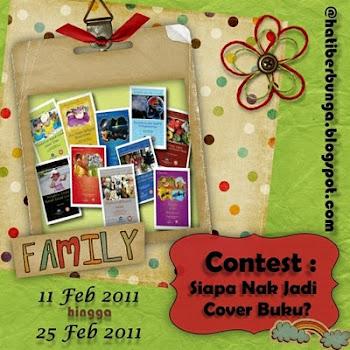 Contest : Siapa Nak Jadi Cover Buku?