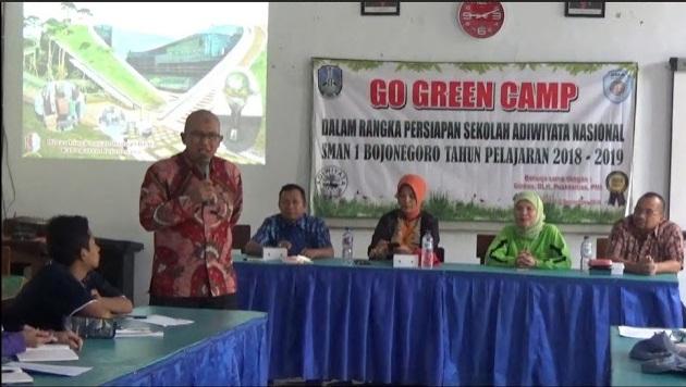 Kunjungan Dinas Lingkungan Hidup Sampang Madura