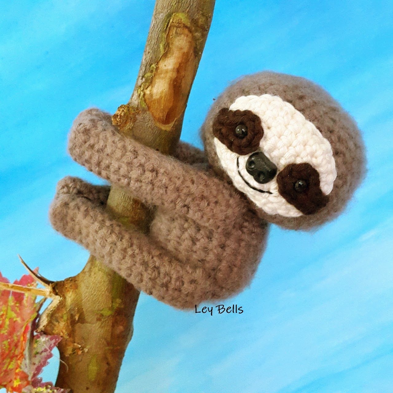 Ley Bells handmade: Amigurumi Mini Sloth ( Open PO )