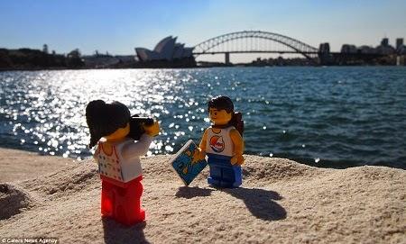 Cặp đồ chơi Lego du lịch Cầu Cảng Sydney