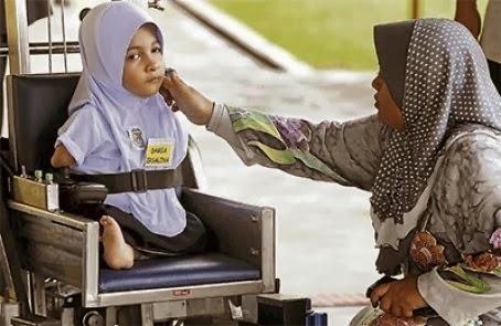 Nur Damia Irsalina Pelajar Istimewa SK Kuala Telemong
