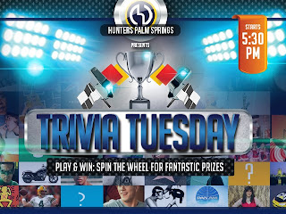 Today - @HunterPS  Tuesday Trivia