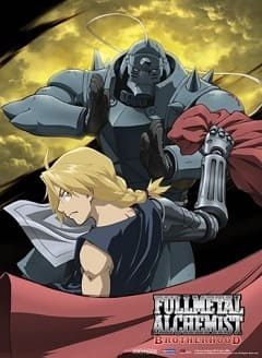 Fullmetal Alchemist Brotherhood Completo Desenhos Torrent Download capa