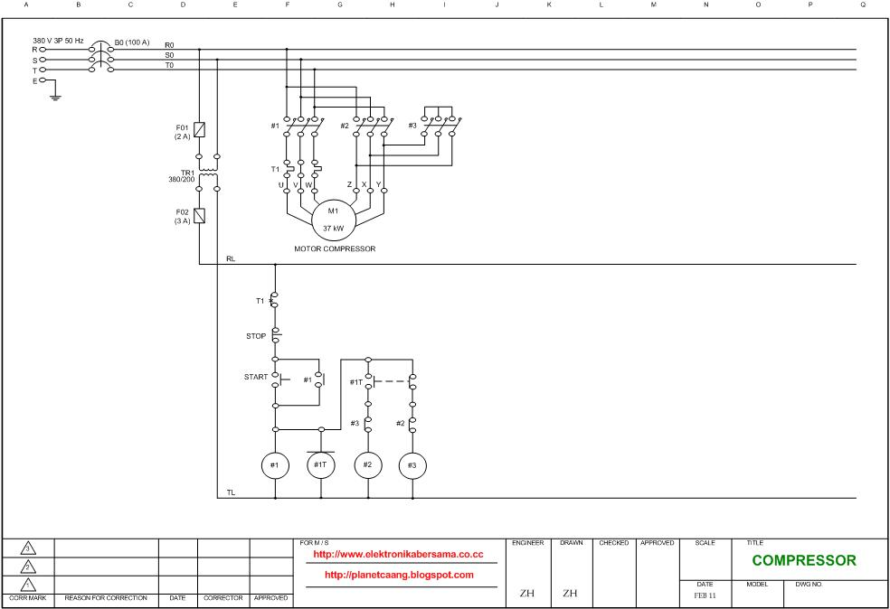 KOMPRESOR wiring diagram compressor, star triangle (star delta) switching delta wiring diagram at mifinder.co
