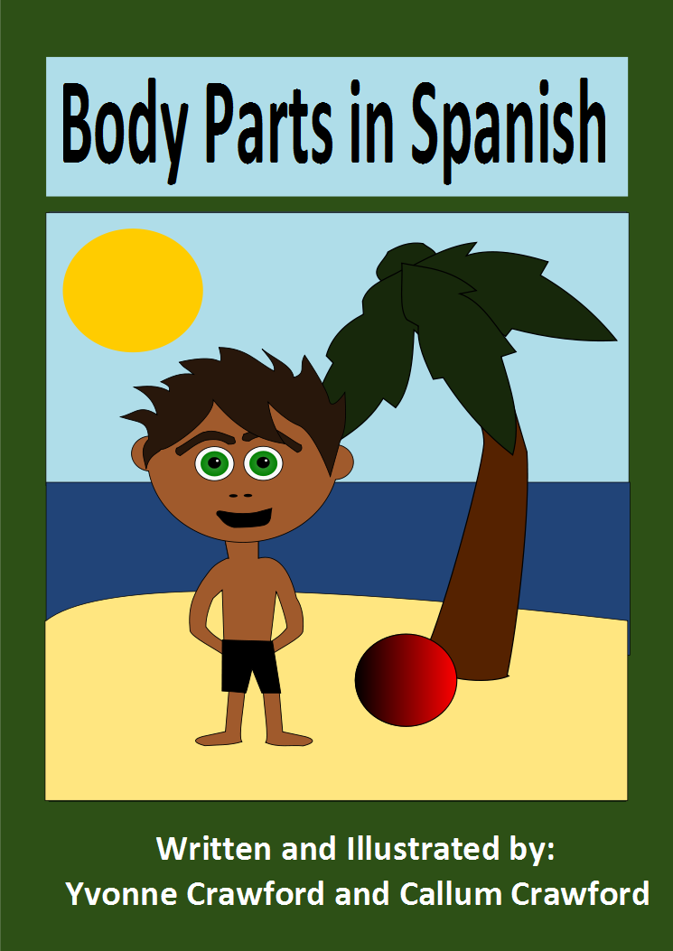Spanish Parts of The Body Worksheet Body Parts in Spanish