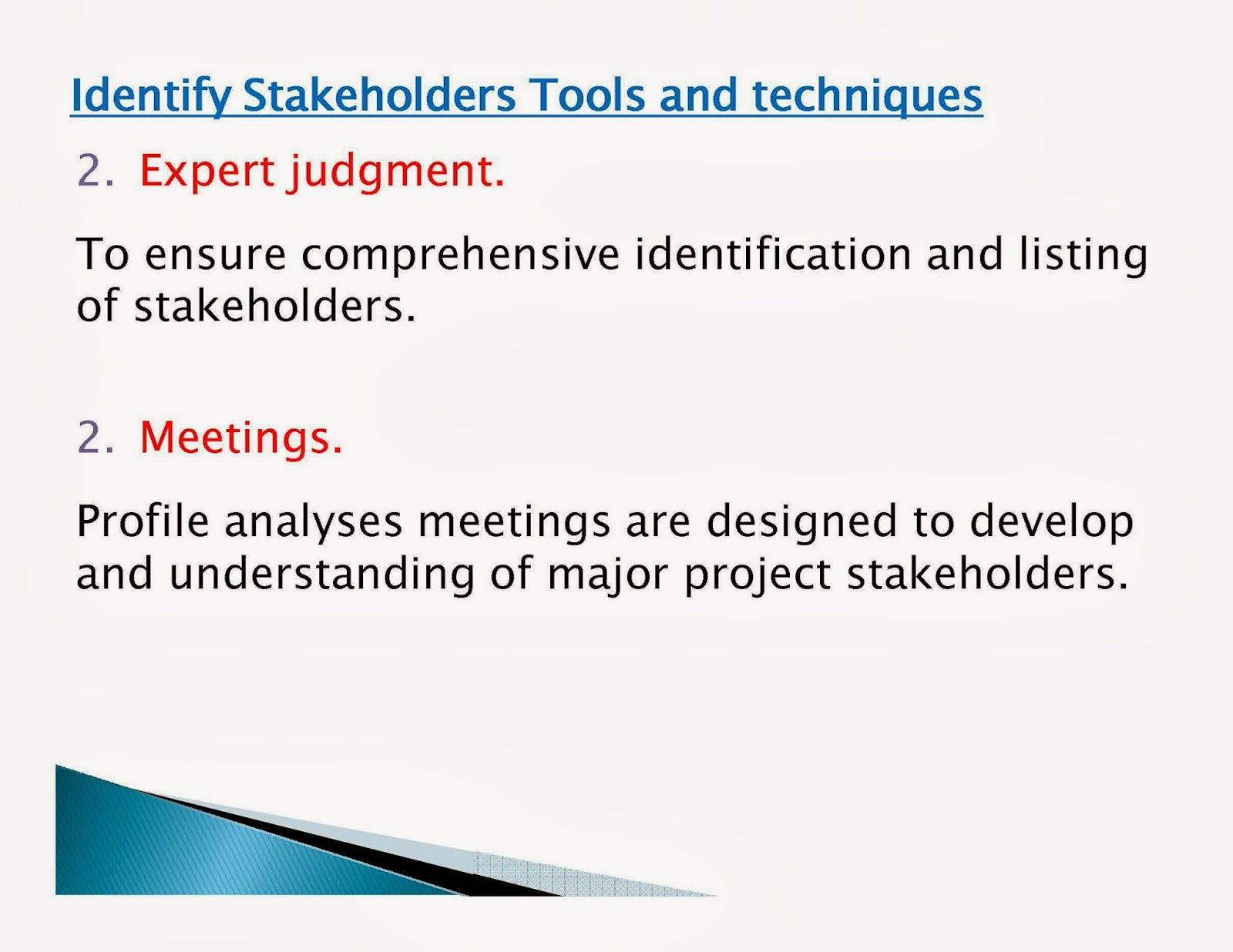 involving key stakeholders and its importance for the success of a project Stakeholder management is a critical component to the successful delivery of any project, programme or activity a stakeholder is any individual, group or organization that can affect, be affected by, or perceive itself to be affected by a programme stakeholder management creates positive relationships with stakeholders  do some of these influencers therefore become important stakeholders in.