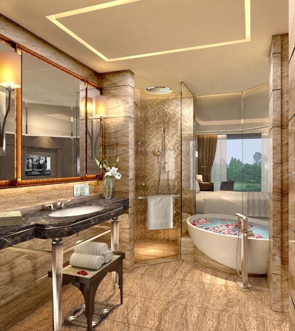 Baño Turco Arquitectura:Diseño de Interiores & Arquitectura: Nuevo Hotel Kempinski con