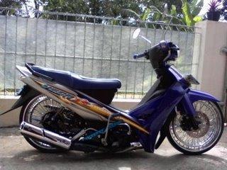 Modifikasi Standar Yamaha Vega Zr