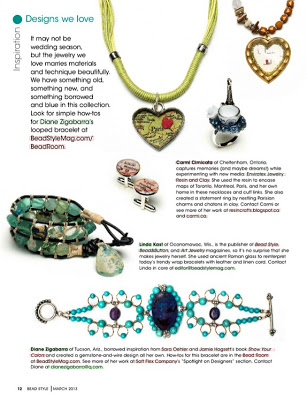 Seen In Bead Style Magazine