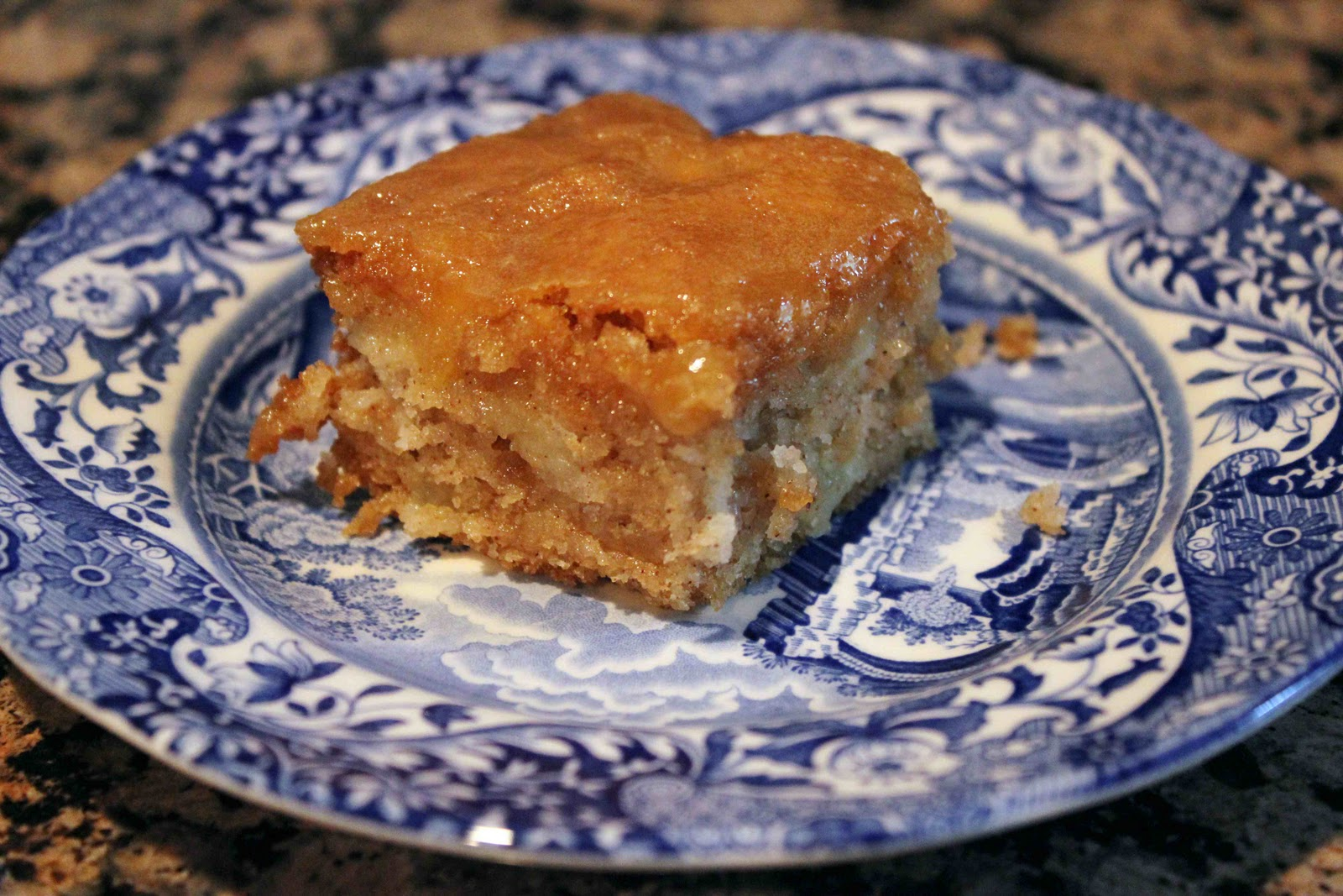 Fresh Apple Cake with Brown Sugar Glaze – Dallas Duo Bakes