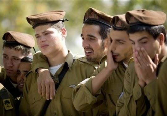 Tentara Zionis sedih