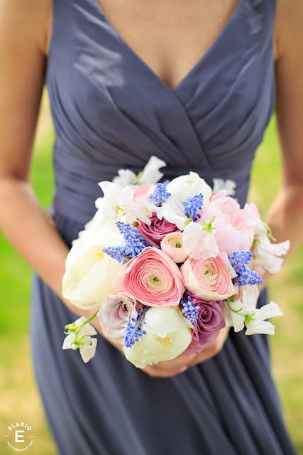 The Sagamore Wedding - Lake George, NY - Flowers - Maid of Honor's Bouquet