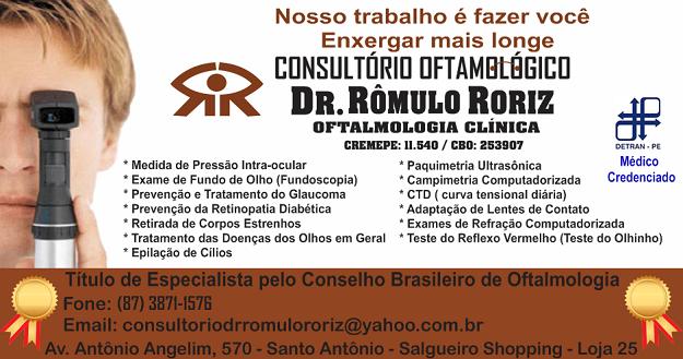 CONSULTÓRIO OFTAMOLÓGICO