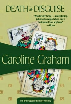 Death in Disguise is an entertaining Inspector Barnaby mystery by Caroline Graham
