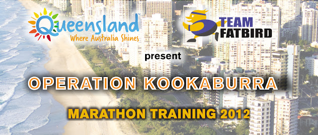 Ops Kookaburra 2012: Marathon Training For Gold Coast