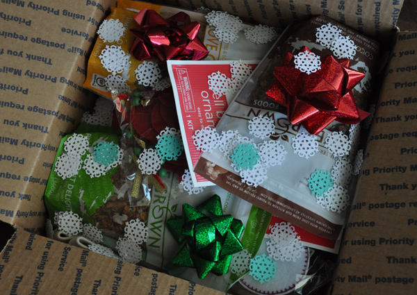 lovegrown granola christmas care package