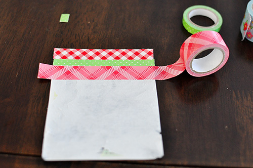 The Cheese Thief Washi Tape To Upcycle Magnet Mailers
